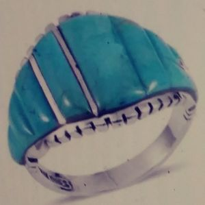 NWT- COMING SOON/ KINGMAN TURQUOISE STERLING 12